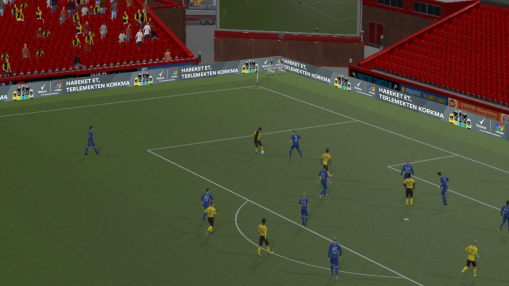 Image: Unilever's creative delivered in Football Manager 20