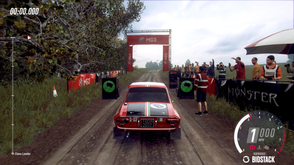 Image: MG's MG3 creative delivered in Dirt Rally 2.0